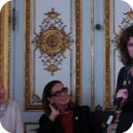 Da sin.: Lida Viganoni, Lucia Caterina e Ilaria Scerrato