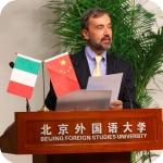 Relazione del professore Vecce al convegno di Pechino