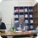 Luisa Valmarin, Inoslav Bešker e Giovannella Fusco Girard