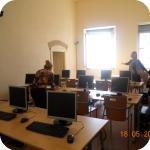 La sala telematica della sede di Procida