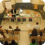La sala del Conservatorio delle Orfane di Procida