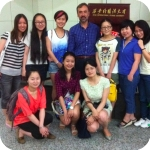 Xian International Studies University (XISU), incontro con le studentesse tornate dall'Orientale e la prof. Du Yi