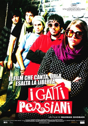 Locandina del film I gatti persiani (Bahman Ghobadi, 2009)