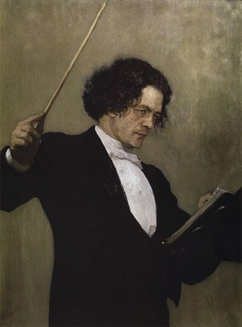 Ritratto di Anton Rubinstein (Oil on canvas, 110 × 85 cm, The State Russian Museum, St. Petersburg)