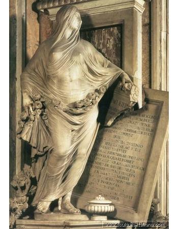 La Pudicizia, Antonio Corradini