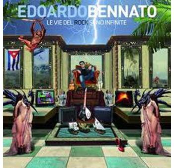 Copertina dell'ultimo cd di Edoardo Bennato, Le vie del rock sono infinite
