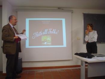 I proff. Riccardo Contini e Simonetta Graziani