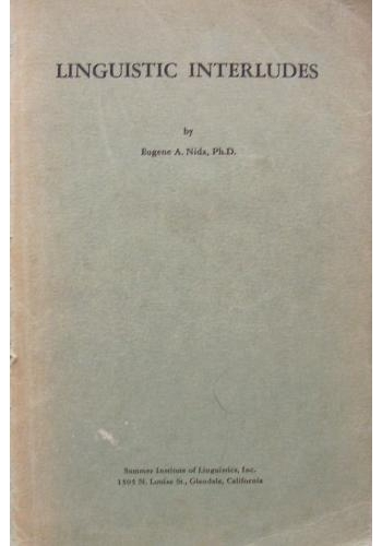 Copertina di Linguistic Interludes