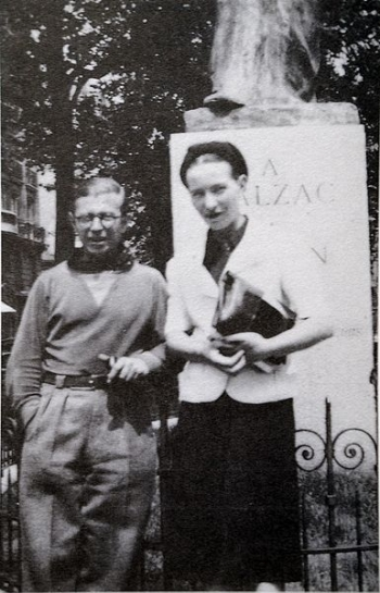 Simone De Beauvoir e Jean-Paul Sartre