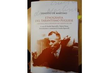 Copertina del libro di Ernesto De Martino