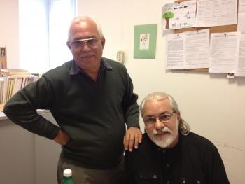 Francisco López Álvarez e Carlos Martí Brenes