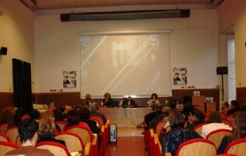 Inaugurazione della terza giornata dell'evento Camus Pasolini