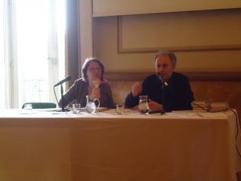 Katja Lange-Müller e Sergio Corrado