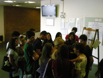 Studenti all'Orientale (foto Francesca De Rosa)