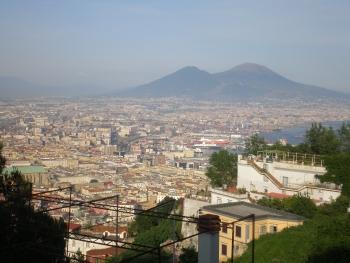 Una panoramica di Napoli