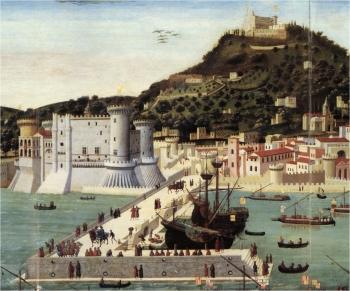 Francesco Roselli, 1472 - particolare (Museo Nazionale di San Martino, Napoli) - Fonte Web
