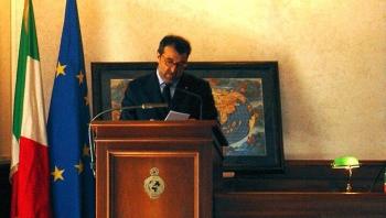 Professore Franco Salvatori, Presidente della Societa Geografica Italiana