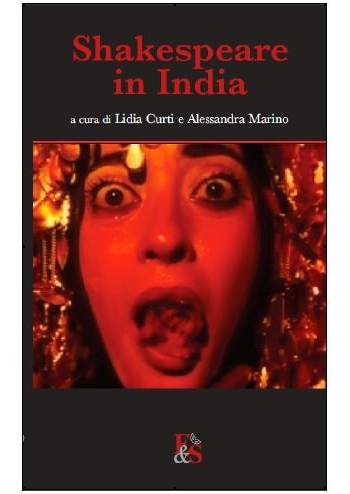 La copertina del testo Shakespeare in India