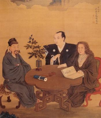Incontro tra Giappone e Occidente (Shiba Kokan)