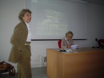 Simonetta Graziani e Annamaria Polvani