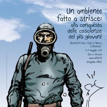 Tratto dalla locandina dell'evento (El Eternauta - Copyright 2011 Eredi Oesterheld, F. Solano Lopez, 001 Edizioni)