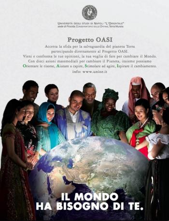 Locandina del Progetto OASI