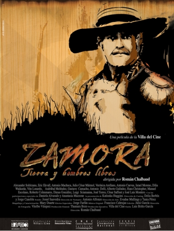 Locandina del film Zamora, tierra y hombres libres di Chalbaud