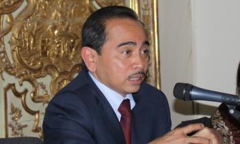 Ambasciatore della Repubblica d'Indonesia S. E. Mohamad Oemar