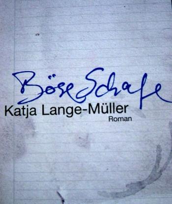Copertina del testo della Lange-Mϋller