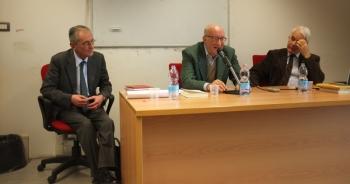 Da sinistra, Maurizio Bossi, Gianfranco Tortorelli e Luigi Mascilli Migliorinini