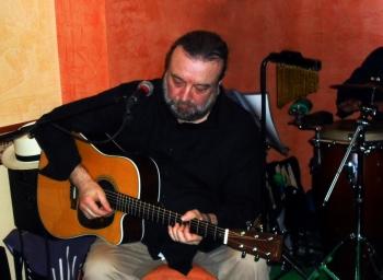 Roberto Ciotti durante il concerto del 24 marzo a Procida