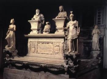 Fonte: http://www.culturacampania.rai.it Giovanni da Nola, Annibale Caccavello e Giovanni Domenico D'Auria, monumento funerario