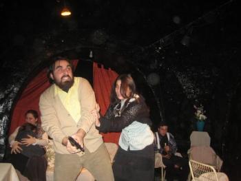 Alcuni attori del Centro di Igiene Teatrale