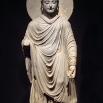Gandhara Buddha (1st-2nd century CE), Tokyo National Museum.