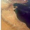 La pianura della Jefara vista dalla Stazione Spaziale Internazionale