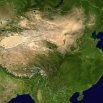 La Cina vista dal satellite NASA
