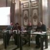 Da sin.: Nicola Perullo, Rossella Bonito Oliva, Arturo Martone, Gianfranco Marrone