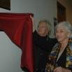 Inaugurazione della Biblioteca, da sinistra Lida Viganoni e Laura Agrimi