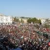 Un'immagine della primavera araba: manifestanti ad Al Bayda (Libia, 22 luglio 2011))