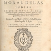 Frontespizio della Historia natural y moral de las Indias di Padre José de Acosta, Sevilla 1590