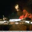 Valentin de Boulogne o Nicolas Tournier, S. Paolo scrive le sue lettere, 1620 ca., Museum of Fine Arts, Houston
