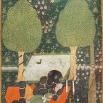 Illustrazione del poema Hamsa di Nezāmi-ye Ganjavī, il ginn Ifrit tiene prigioniera Makhan