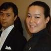 Wang Mengyu e Sun Yu (Foto Nunziata Napolitano - L'Orientale Web Magazine)